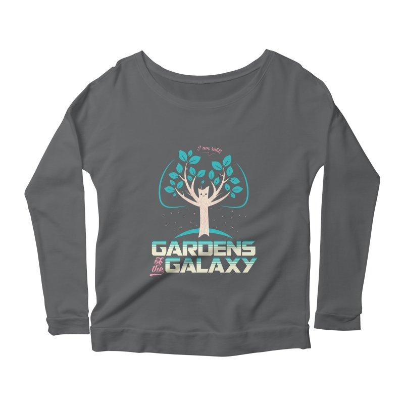 Gardens Of The Galaxy Women's Scoop Neck Longsleeve T-Shirt by monsieurgordon's Artist Shop