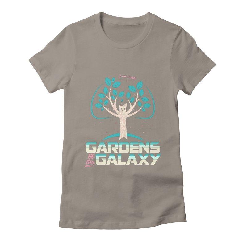 Gardens Of The Galaxy Women's Fitted T-Shirt by monsieurgordon's Artist Shop