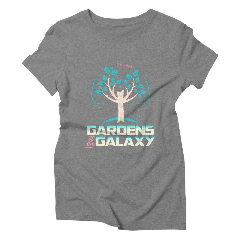 Gardens Of The Galaxy Women's Triblend T-Shirt by monsieurgordon's Artist Shop