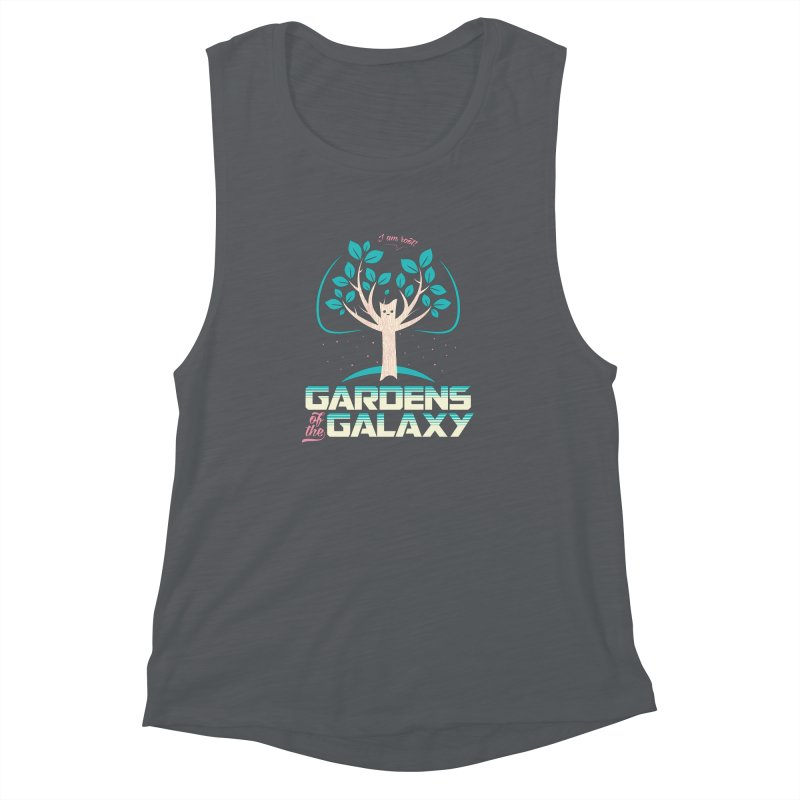 Gardens Of The Galaxy Women's Muscle Tank by monsieurgordon's Artist Shop