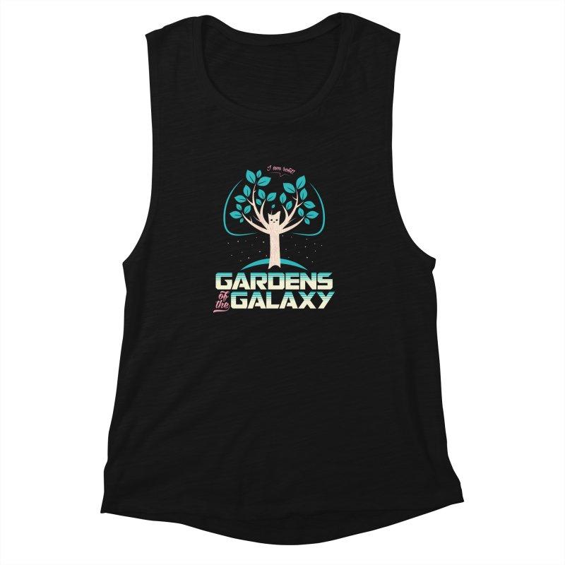 Gardens Of The Galaxy Women's Muscle Tank by monsieurgordon's Artist Shop