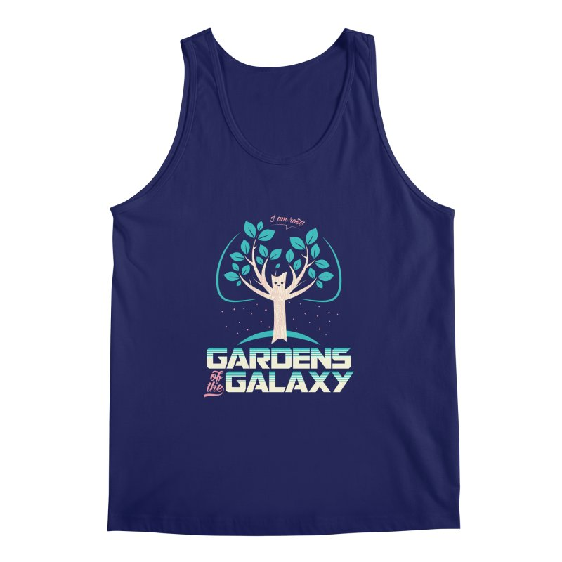 Gardens Of The Galaxy Men's Regular Tank by monsieurgordon's Artist Shop
