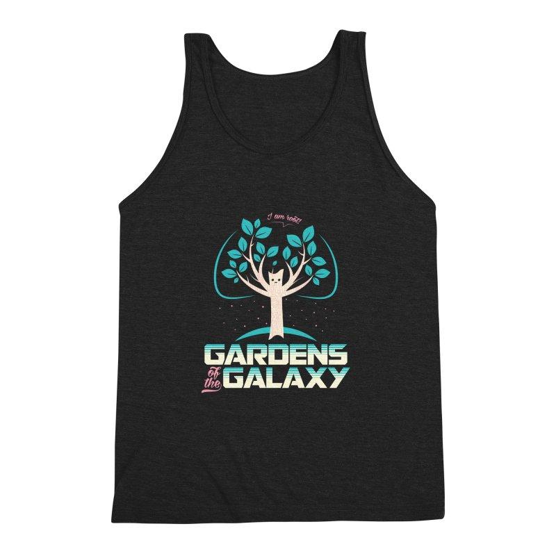 Gardens Of The Galaxy Men's Triblend Tank by monsieurgordon's Artist Shop