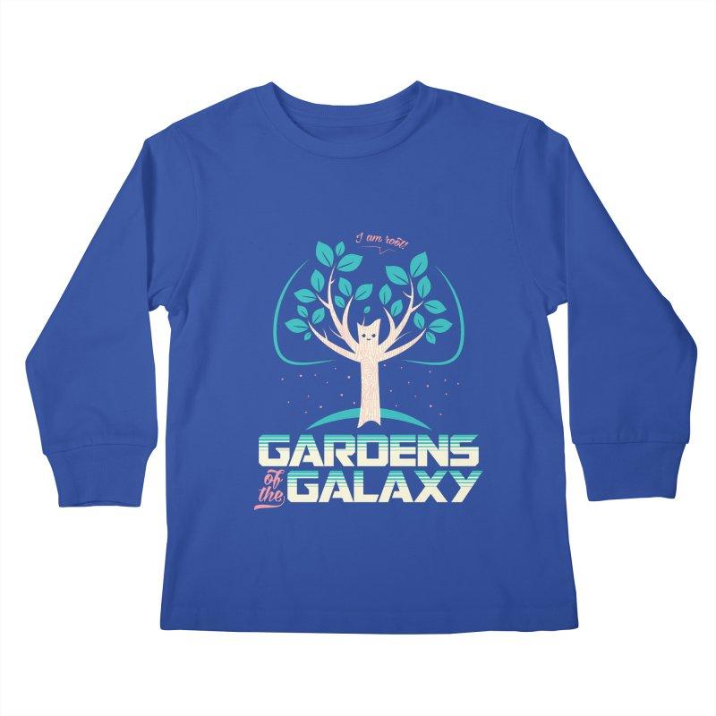 Gardens Of The Galaxy Kids Longsleeve T-Shirt by monsieurgordon's Artist Shop