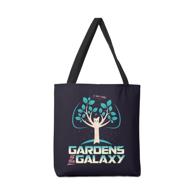 Gardens Of The Galaxy Accessories Tote Bag Bag by monsieurgordon's Artist Shop