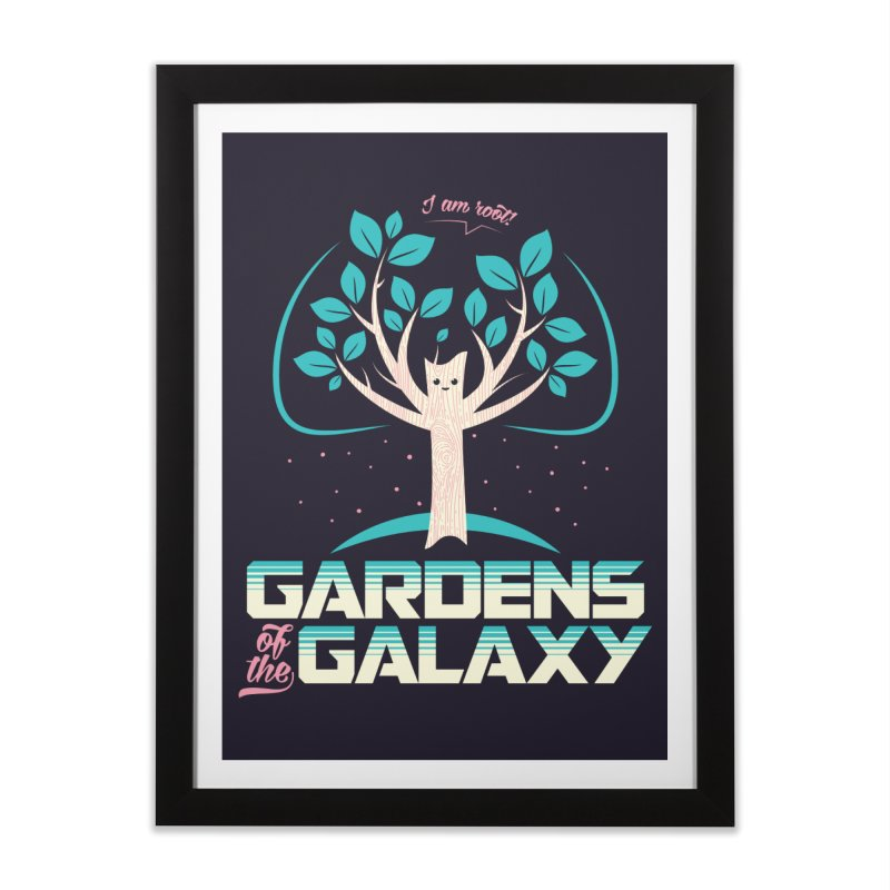 Gardens Of The Galaxy Home Framed Fine Art Print by monsieurgordon's Artist Shop