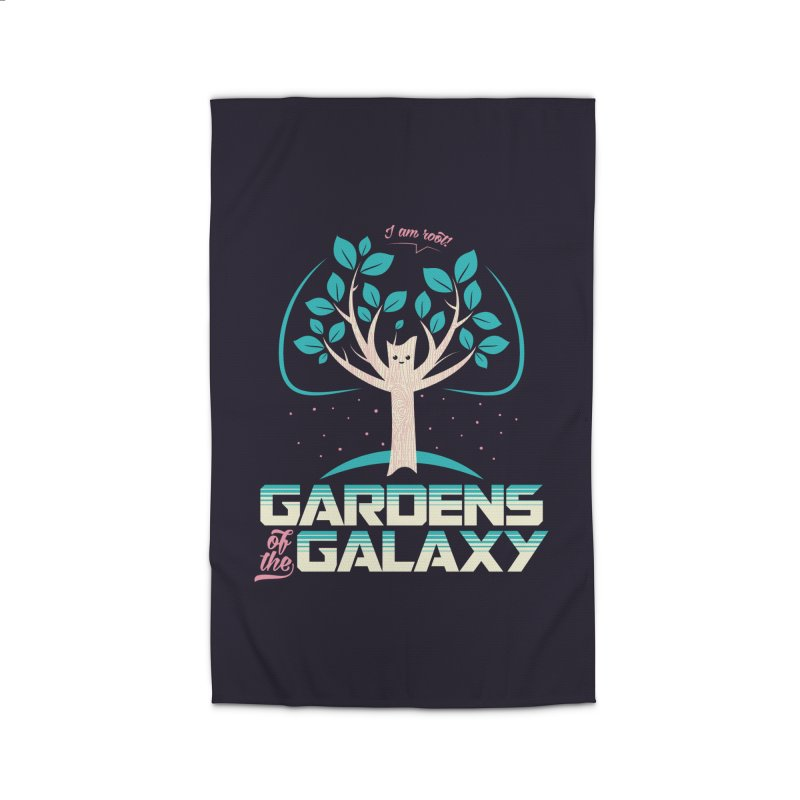 Gardens Of The Galaxy Home Rug by monsieurgordon's Artist Shop