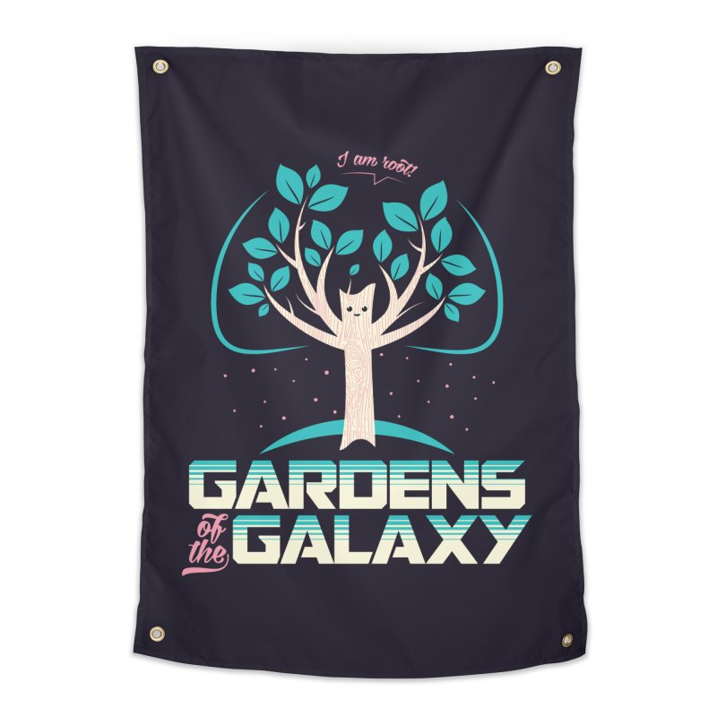 Gardens Of The Galaxy Home Tapestry by monsieurgordon's Artist Shop