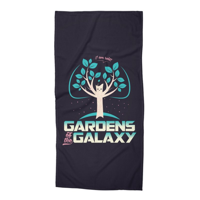 Gardens Of The Galaxy Accessories Beach Towel by monsieurgordon's Artist Shop