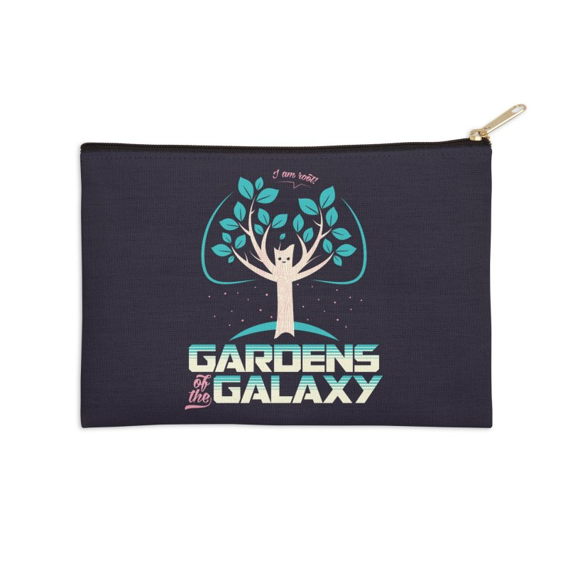 Gardens Of The Galaxy Accessories Zip Pouch by monsieurgordon's Artist Shop