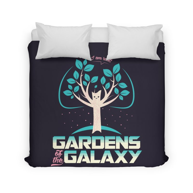 Gardens Of The Galaxy Home Duvet by monsieurgordon's Artist Shop