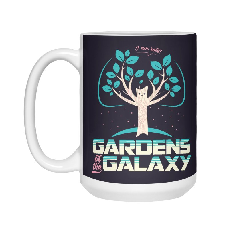 Gardens Of The Galaxy Accessories Standard Mug by monsieurgordon's Artist Shop