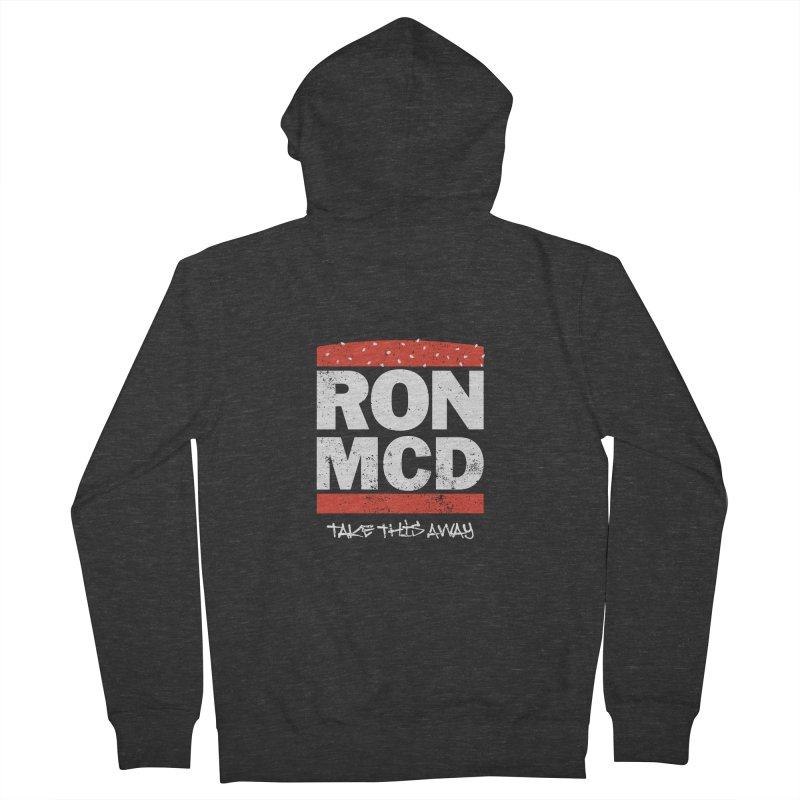 Ron-MCD Men's French Terry Zip-Up Hoody by monsieurgordon's Artist Shop