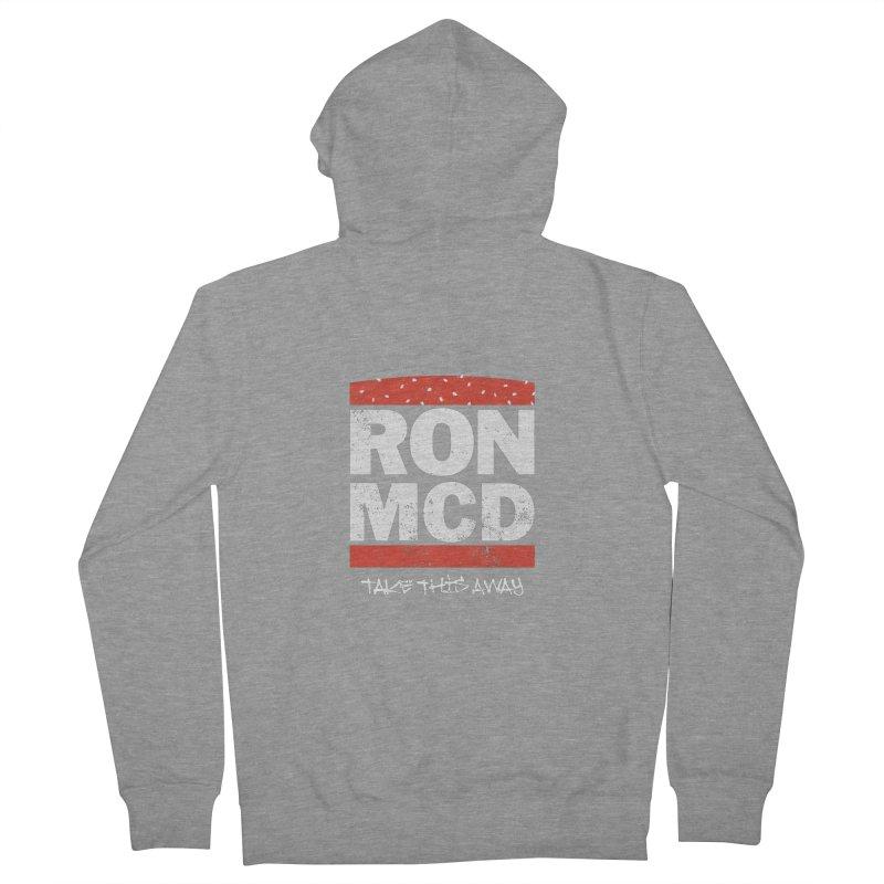 Ron-MCD Men's Zip-Up Hoody by monsieurgordon's Artist Shop