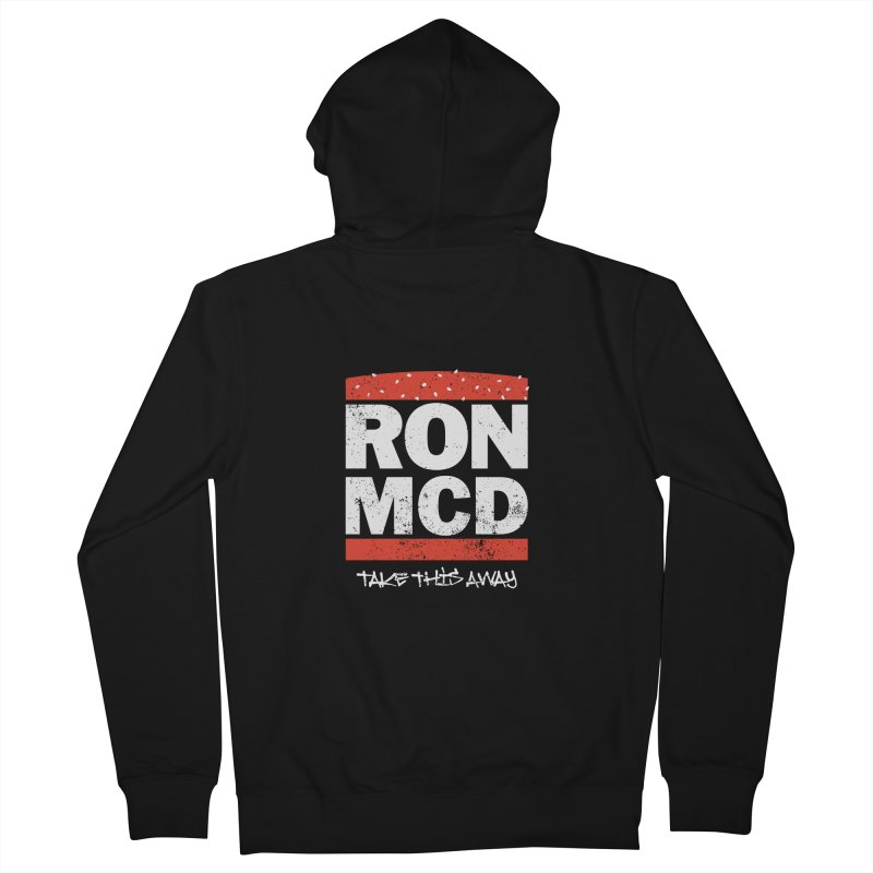 Ron-MCD Men's French Terry Zip-Up Hoody by monsieurgordon's Artist Shop