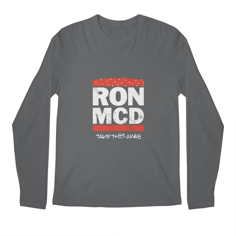 Ron-MCD Men's Regular Longsleeve T-Shirt by monsieurgordon's Artist Shop