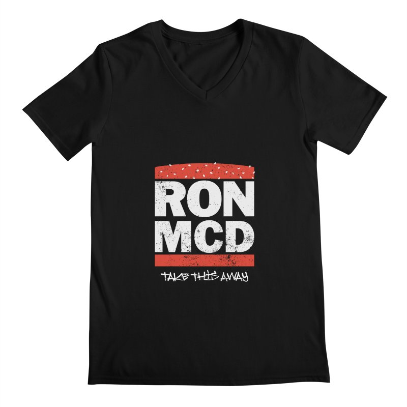 Ron-MCD Men's Regular V-Neck by monsieurgordon's Artist Shop