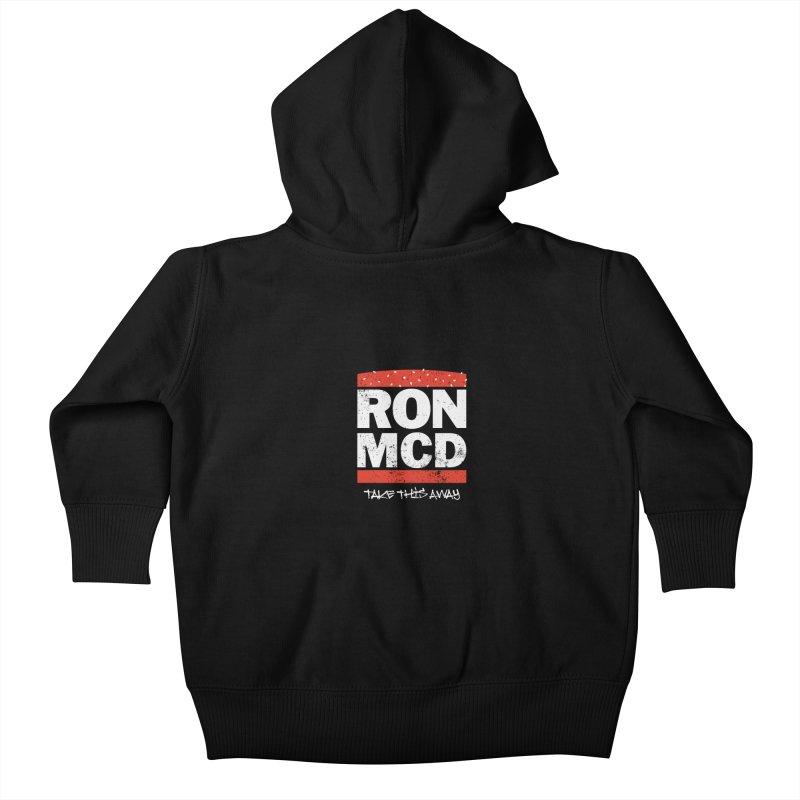 Ron-MCD Kids Baby Zip-Up Hoody by monsieurgordon's Artist Shop