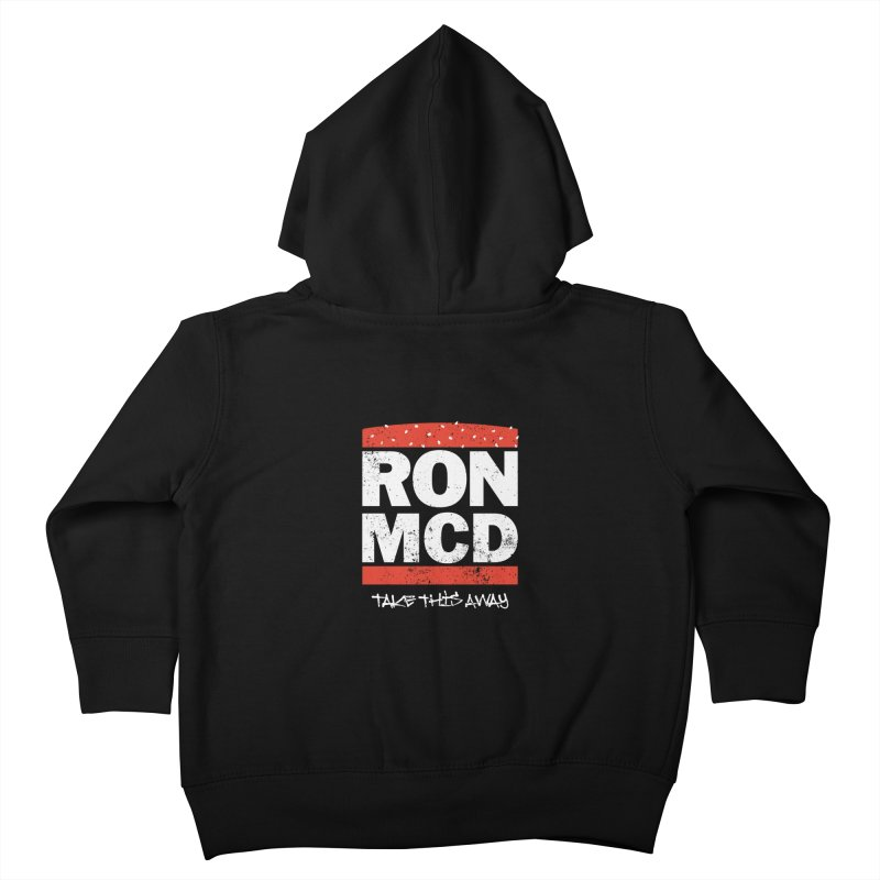 Ron-MCD Kids Toddler Zip-Up Hoody by monsieurgordon's Artist Shop