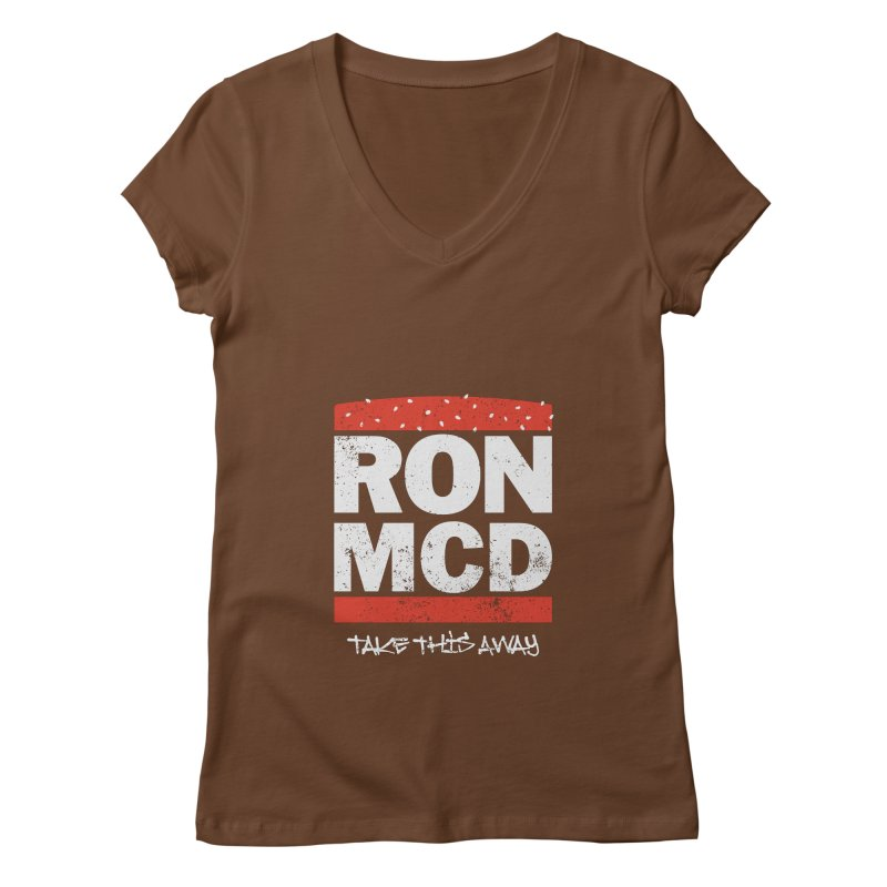 Ron-MCD Women's V-Neck by monsieurgordon's Artist Shop