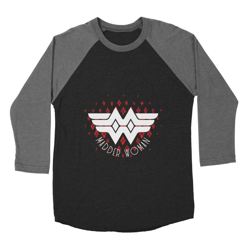 Madder Woman Men's Baseball Triblend Longsleeve T-Shirt by monsieurgordon's Artist Shop
