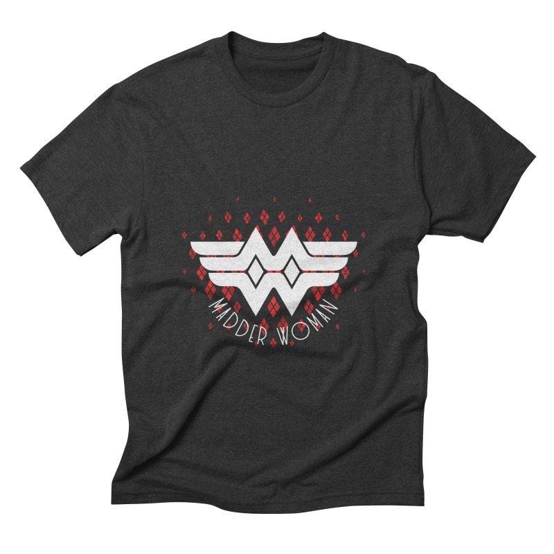 Madder Woman Men's Triblend T-shirt by monsieurgordon's Artist Shop