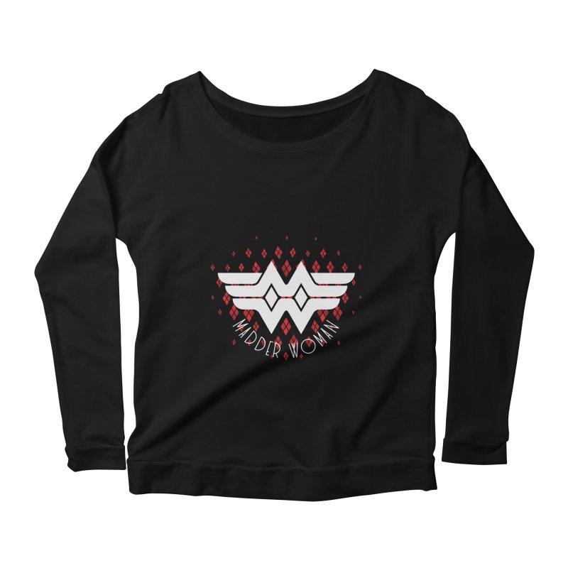 Madder Woman Women's Scoop Neck Longsleeve T-Shirt by monsieurgordon's Artist Shop