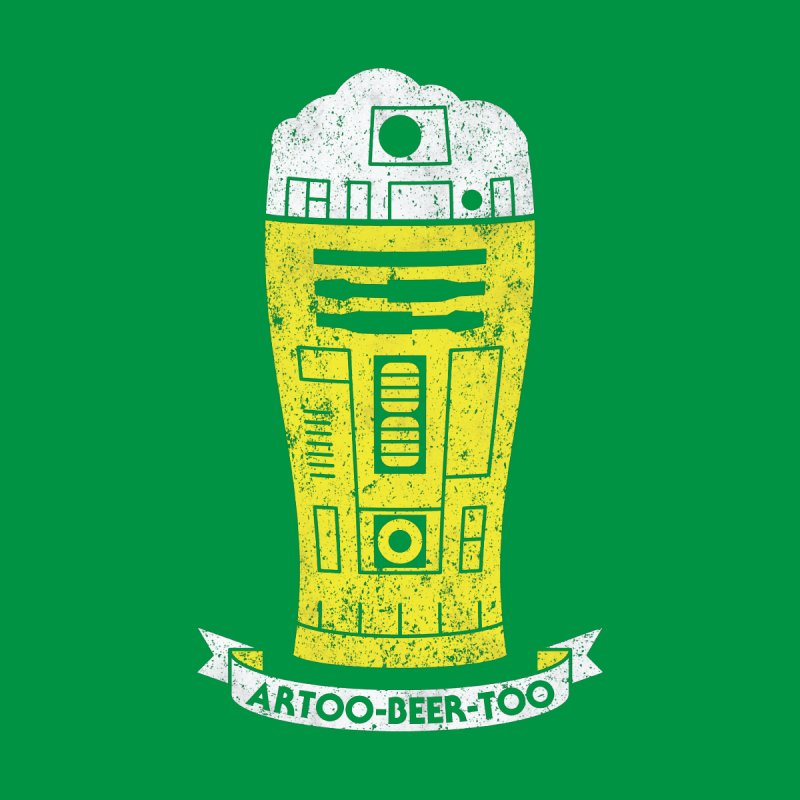Artoo-Beer-Too None  by monsieurgordon's Artist Shop
