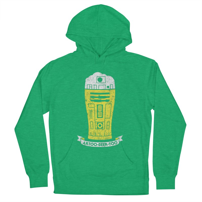 Artoo-Beer-Too Men's Pullover Hoody by monsieurgordon's Artist Shop