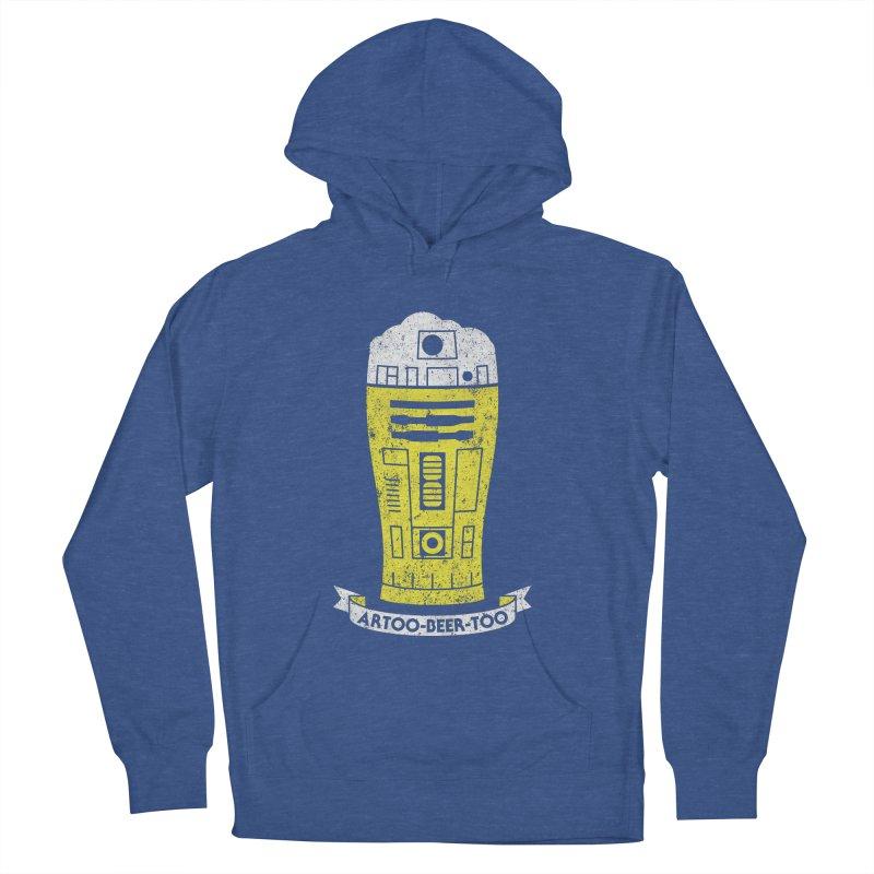 Artoo-Beer-Too Men's Pullover Hoody by monsieurgordon's Artist Shop