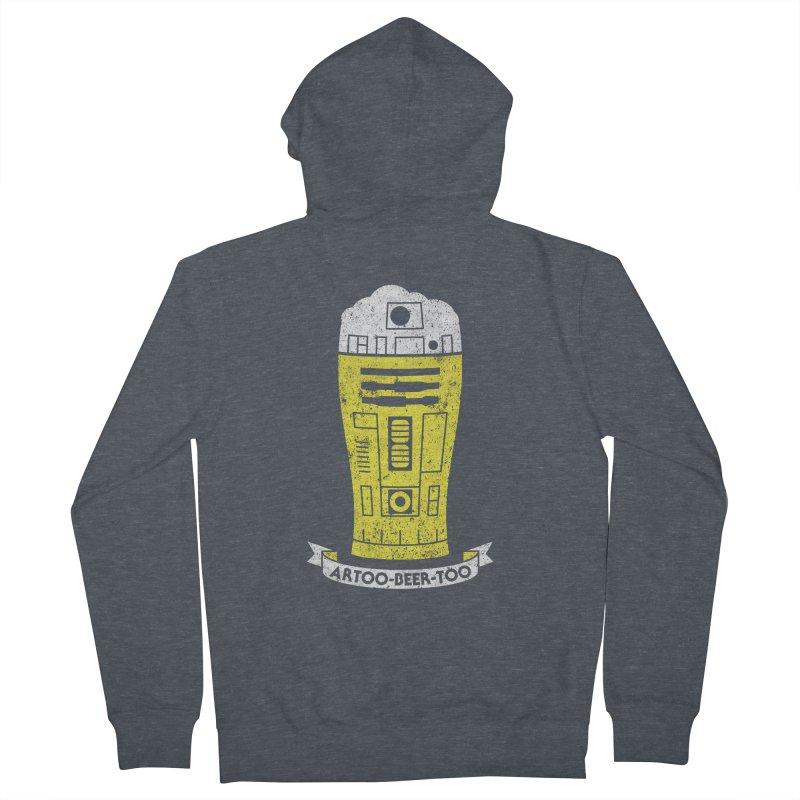 Artoo-Beer-Too Men's Zip-Up Hoody by monsieurgordon's Artist Shop