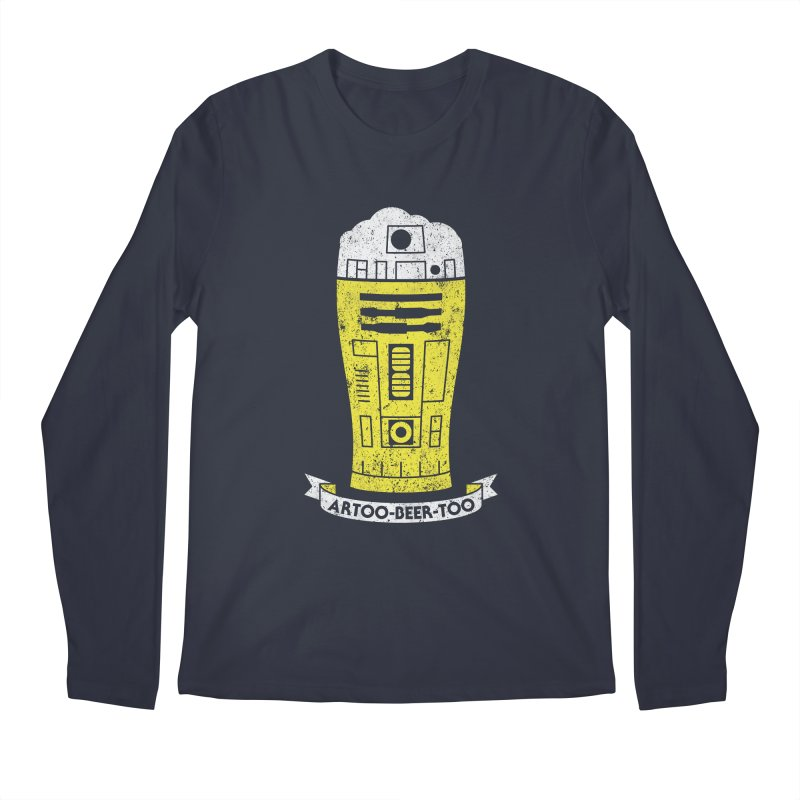 Artoo-Beer-Too Men's Regular Longsleeve T-Shirt by monsieurgordon's Artist Shop