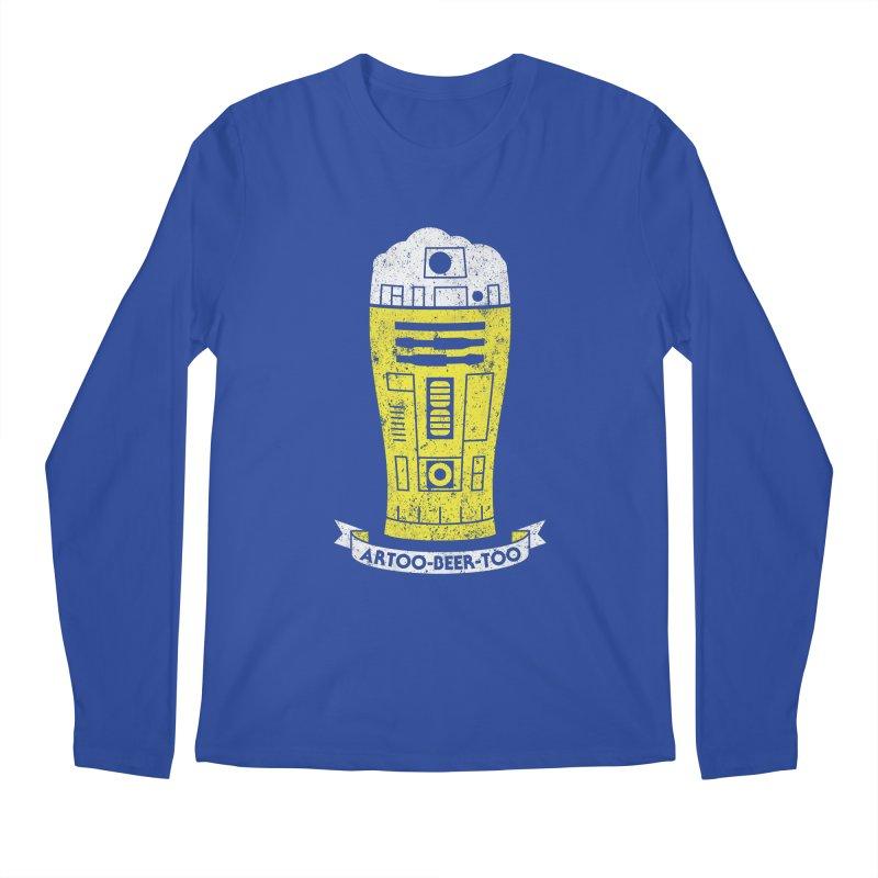 Artoo-Beer-Too Men's Regular Longsleeve T-Shirt by monsieurgordon's Artist Shop