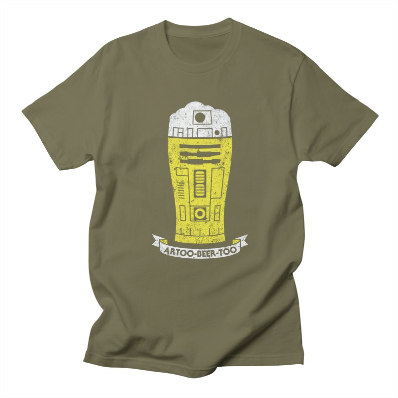 Artoo-Beer-Too Women's Regular Unisex T-Shirt by monsieurgordon's Artist Shop