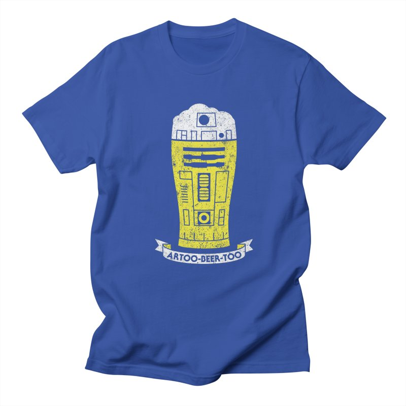 Artoo-Beer-Too Men's Regular T-Shirt by monsieurgordon's Artist Shop