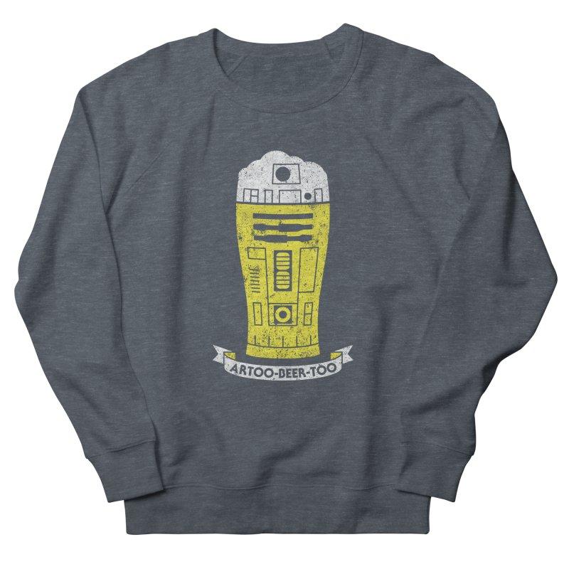 Artoo-Beer-Too Women's French Terry Sweatshirt by monsieurgordon's Artist Shop