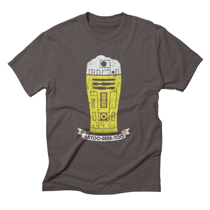 Artoo-Beer-Too Men's Triblend T-Shirt by monsieurgordon's Artist Shop