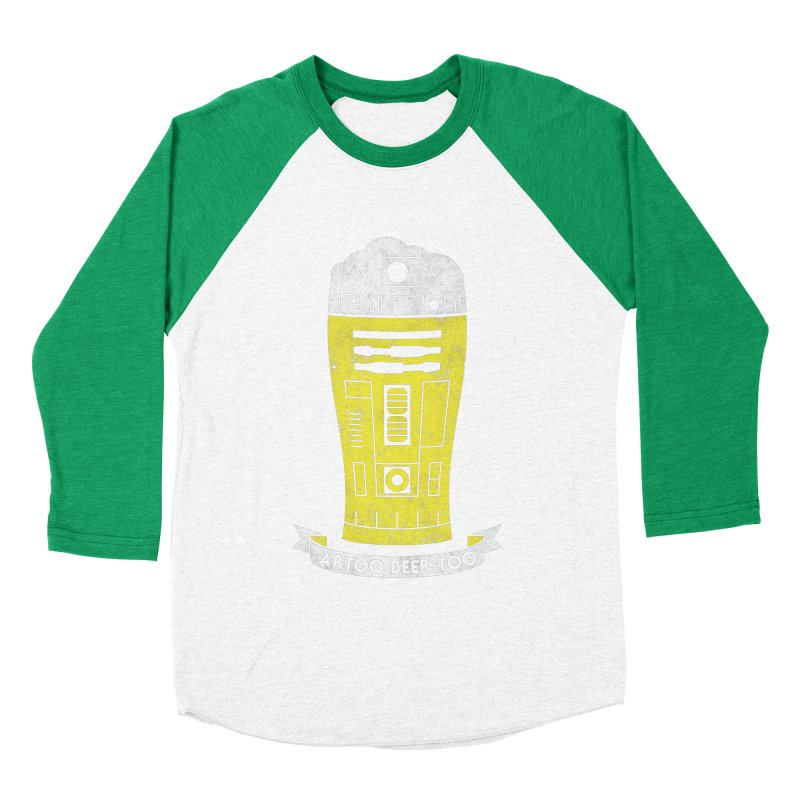 Artoo-Beer-Too Women's Baseball Triblend Longsleeve T-Shirt by monsieurgordon's Artist Shop