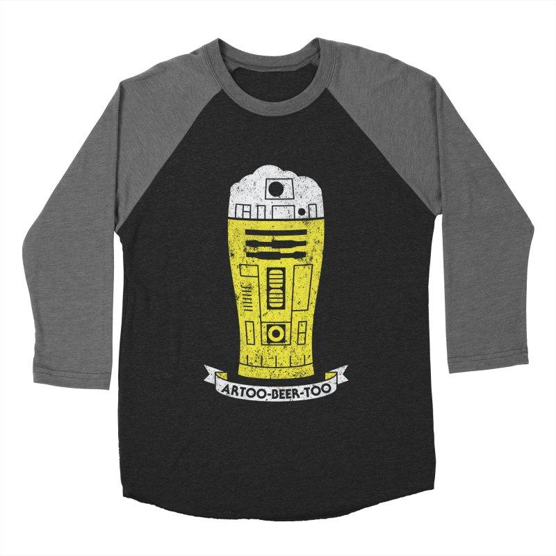 Artoo-Beer-Too Men's Baseball Triblend Longsleeve T-Shirt by monsieurgordon's Artist Shop