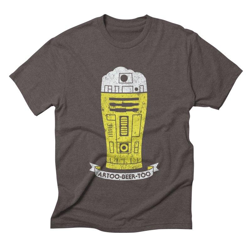 Artoo-Beer-Too Men's Triblend T-shirt by monsieurgordon's Artist Shop
