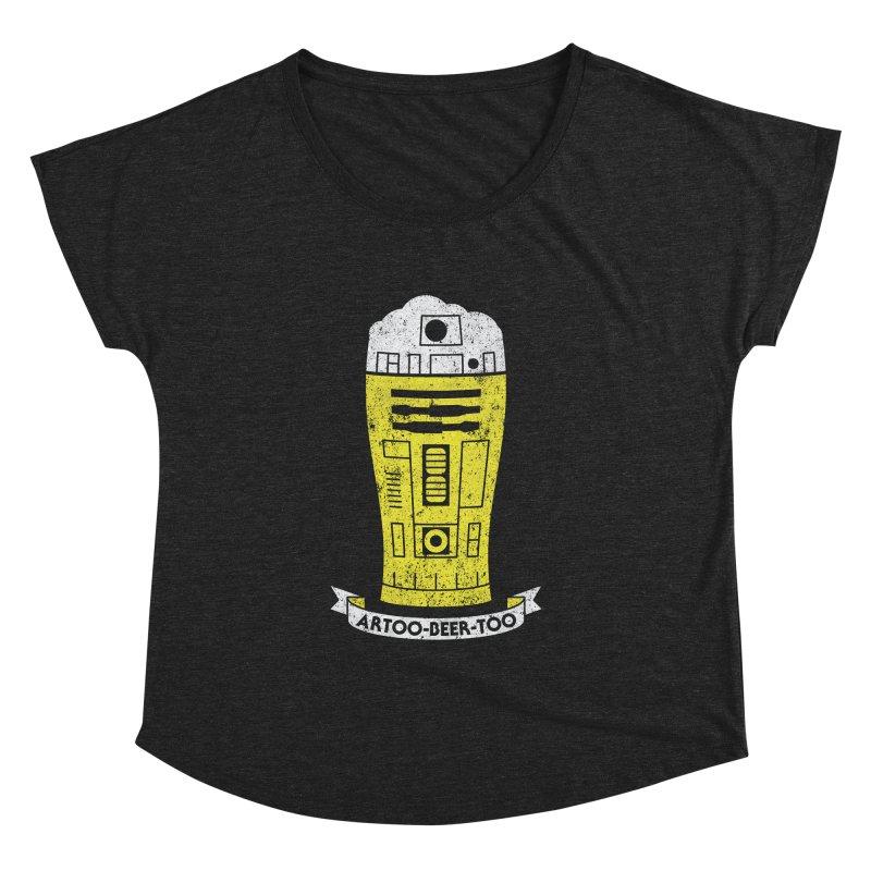 Artoo-Beer-Too Women's Dolman Scoop Neck by monsieurgordon's Artist Shop