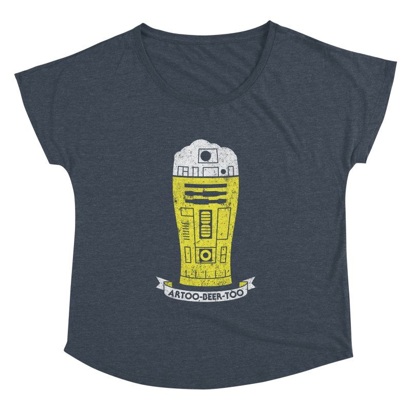 Artoo-Beer-Too Women's Dolman by monsieurgordon's Artist Shop