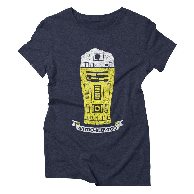 Artoo-Beer-Too Women's Triblend T-Shirt by monsieurgordon's Artist Shop