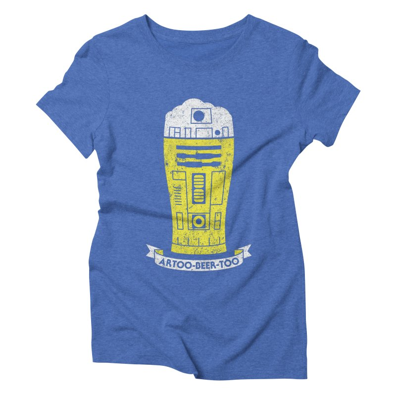 Artoo-Beer-Too Women's Triblend T-Shirt by monsieurgordon's Artist Shop