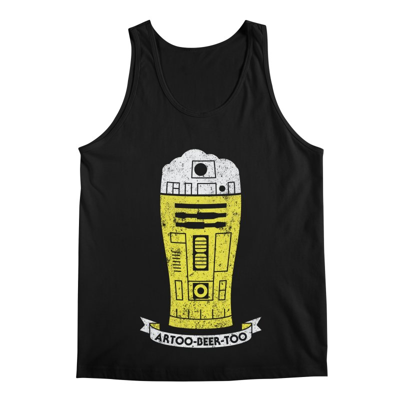 Artoo-Beer-Too Men's Regular Tank by monsieurgordon's Artist Shop