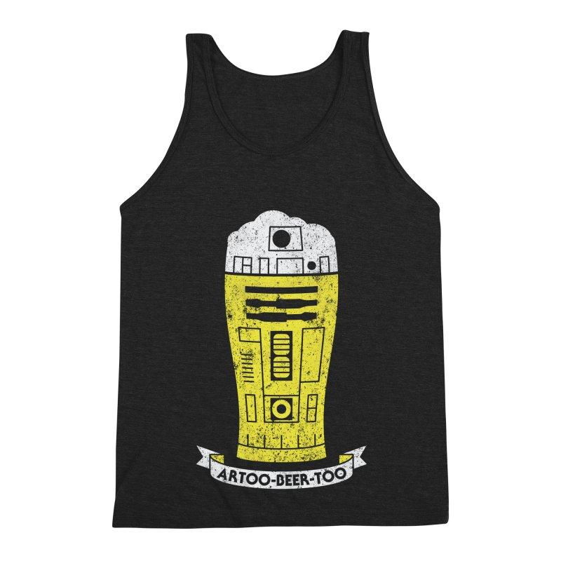 Artoo-Beer-Too Men's Triblend Tank by monsieurgordon's Artist Shop