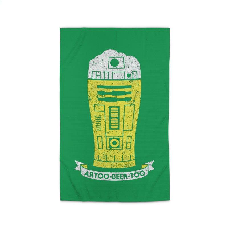 Artoo-Beer-Too Home Rug by monsieurgordon's Artist Shop