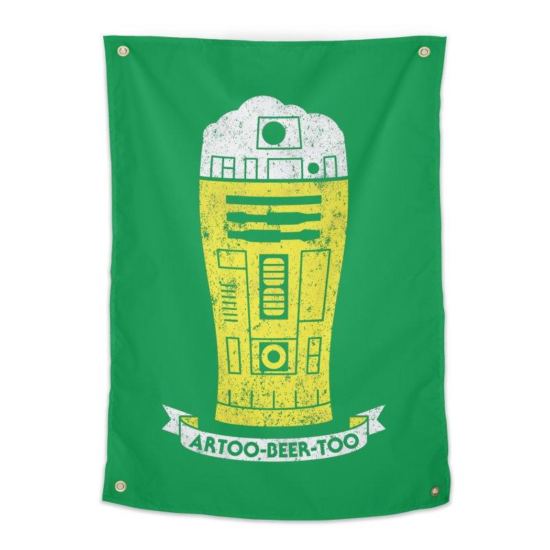 Artoo-Beer-Too Home Tapestry by monsieurgordon's Artist Shop