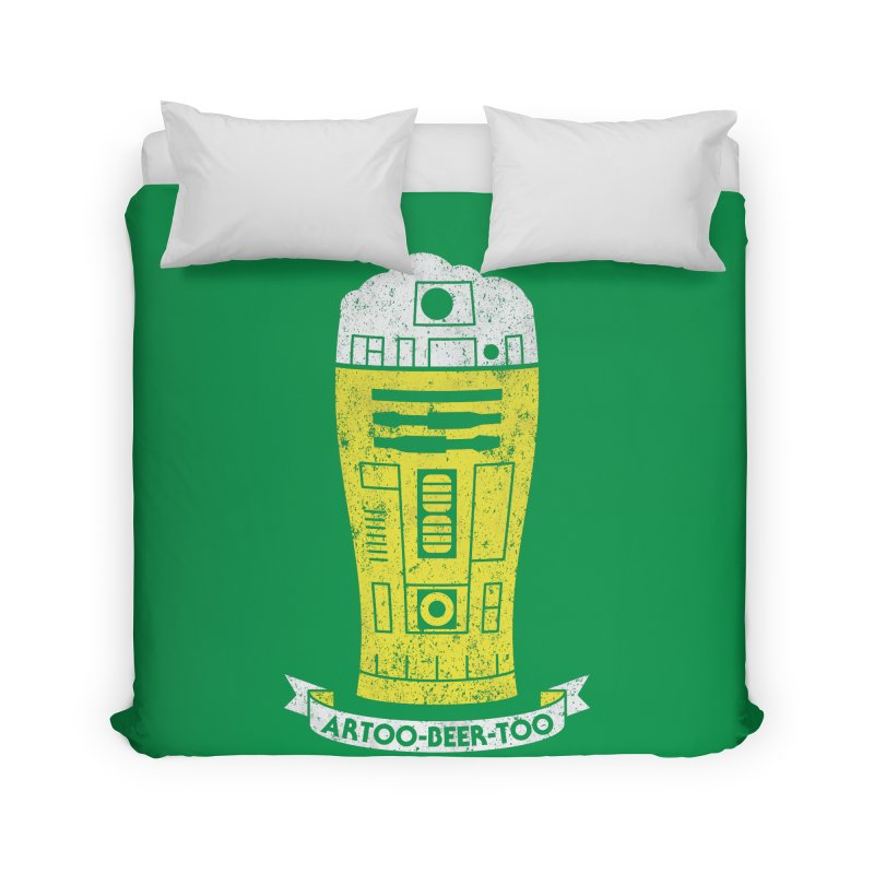 Artoo-Beer-Too Home Duvet by monsieurgordon's Artist Shop