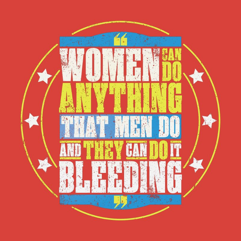 Bloody Women Home Rug by monsieurgordon's Artist Shop